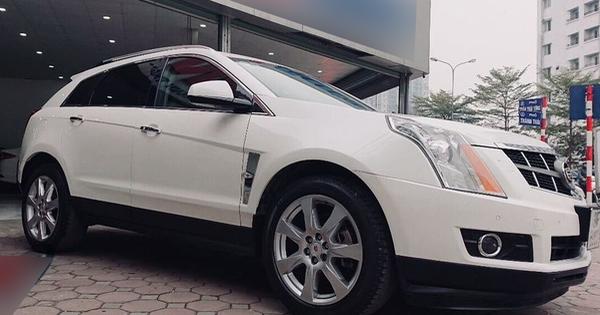Từng là đối thủ của Lexus RX 350, 'hàng hiếm' Cadillac SRX4 xuống giá rẻ ngang Hyundai Tucson dù mỗi năm chỉ chạy 14.000km