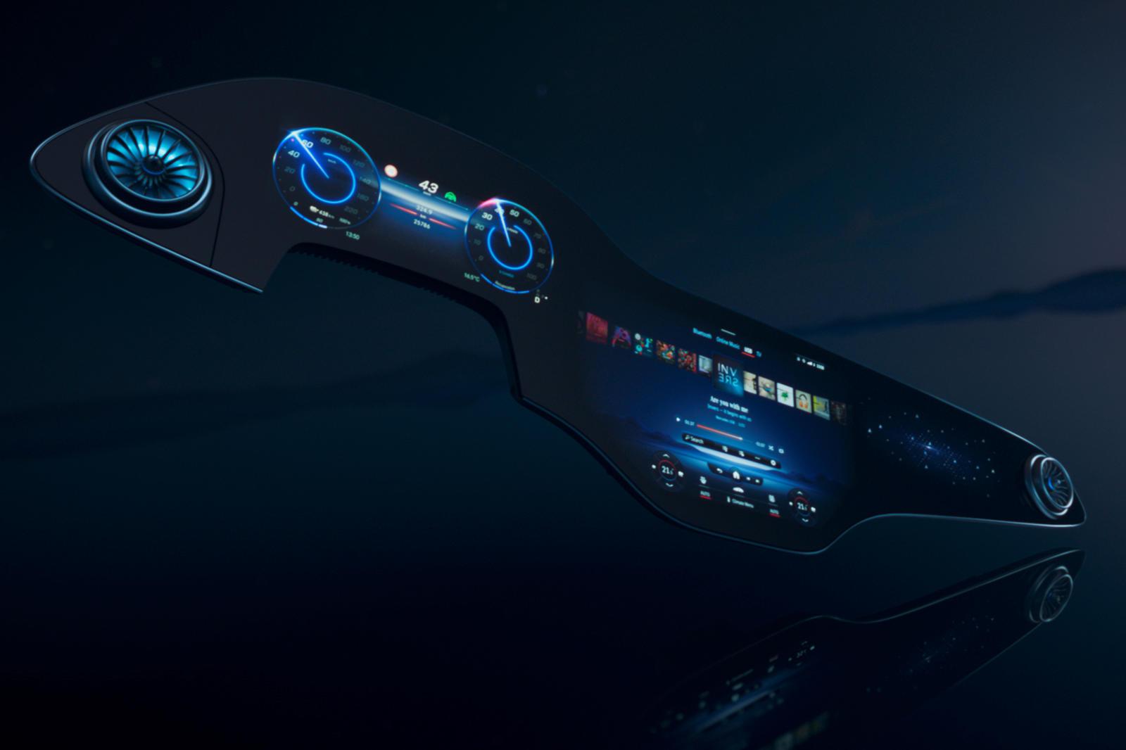 Mercedes-Benz vén màn hệ thống giải trí MBUX thế hệ mới, kích thước và công nghệ tích hợp là điểm nhấn -1