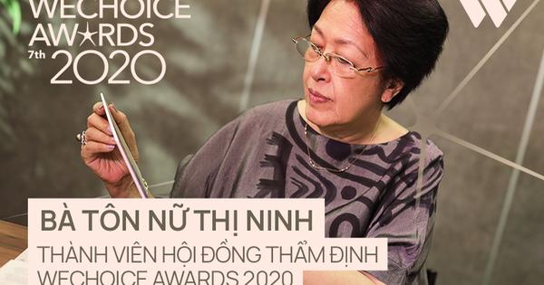 Bà Tôn Nữ Thị Ninh nói về 20 Nhân vật truyền cảm hứng: