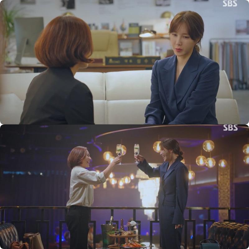 Nàng công sở ngoài 30 học lỏm được 4 điều thầm kín từ phong cách của 2 chị vợ cao tay chuyên trị tiểu tam trong phim Hàn-12