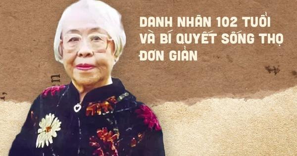 Danh nhân 102 tuổi: 6 điều đơn giản để sống