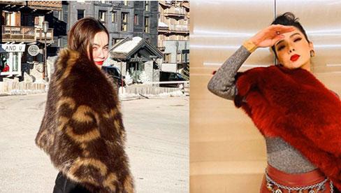 Học Lệ Quyên, Hồ Ngọc Hà cách diện áo lông 'chanh sả' như minh tinh