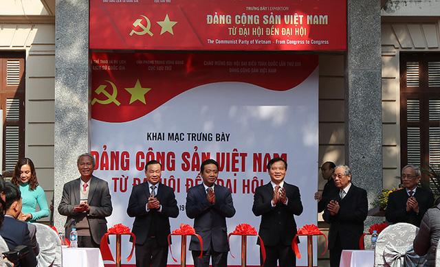 Khai mạc trưng bày Đảng Cộng sản Việt Nam - Từ Đại hội đến Đại hội-1