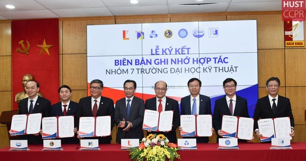 Bảy trường đại học kỹ thuật ký kết hợp tác toàn diện