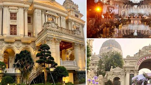 """Xôn xao đám cưới """"khủng"""" tại lâu đài dát vàng ở Ninh Bình: Mời cả ca sĩ Cẩm Ly và Quốc Đại hát"""