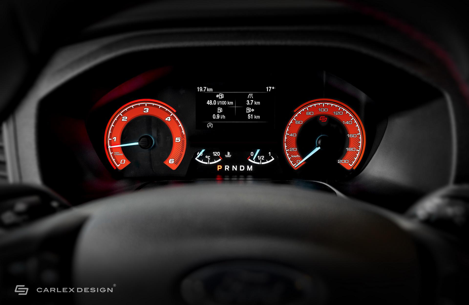 Xe MPV Ford Transit Custom được lột xác bởi hãng độ Carlex Design -6