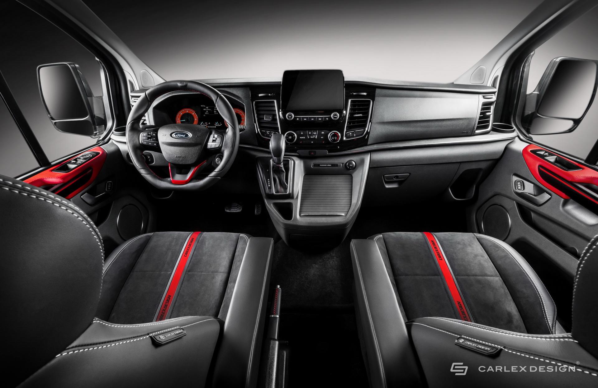 Xe MPV Ford Transit Custom được lột xác bởi hãng độ Carlex Design -4