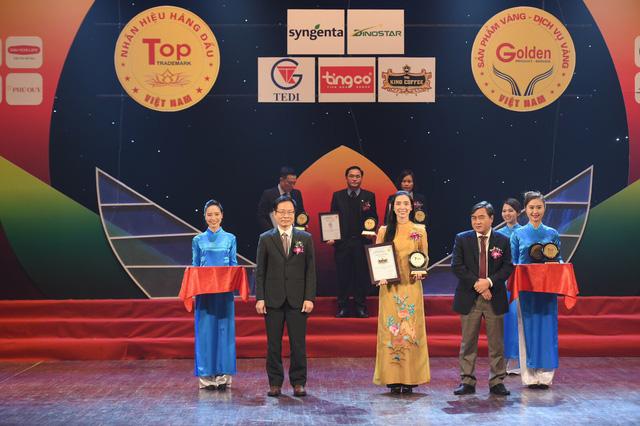 King Coffee đạt giải thưởng Top 20 Nhãn hiệu hàng đầu Việt Nam – Sản phẩm, Dịch vụ Vàng Việt Nam năm 2021-1