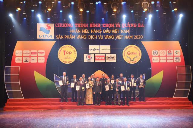 King Coffee đạt giải thưởng Top 20 Nhãn hiệu hàng đầu Việt Nam – Sản phẩm, Dịch vụ Vàng Việt Nam năm 2021-2