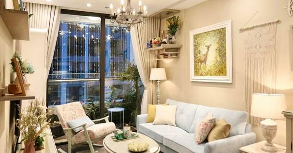 Căn hộ 70m² decor siêu dễ thương được chủ nhà hoàn thiện