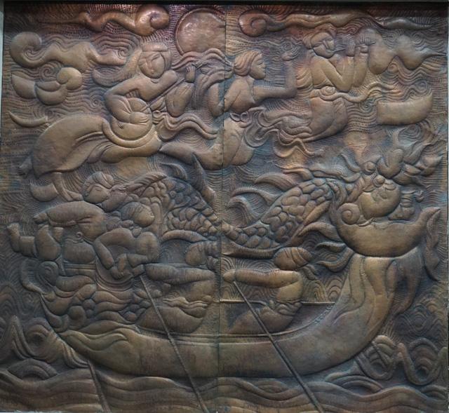 36 tác phẩm trong triển lãm Mùa xuân đất nước: Mạch nối của nhiều thế hệ nghệ sĩ điêu khắc-3