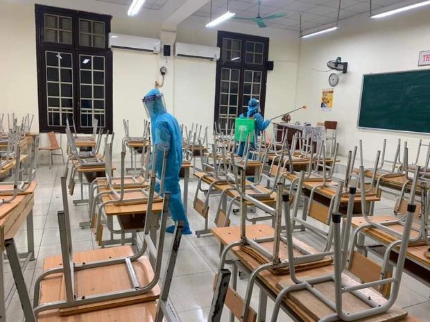 3 học sinh thuộc diện F1 và F2, trường cấp 3  Phan Đình Phùng  Hà Nội cho học sinh nghỉ học từ ngày 29/1-2