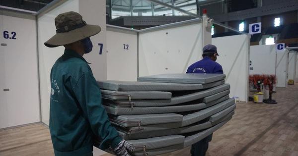 Đà Nẵng tháo dỡ Bệnh viện Dã chiến Tiên Sơn chi viện cho Hải Dương
