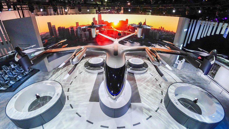 Vương quốc Anh công bố sân bay đầu tiên dành cho ô tô bay trên thế giới