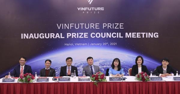 VinFuture công bố tiêu chí giải thưởng và chính thức nhận đề cử trên phạm vi toàn cầu