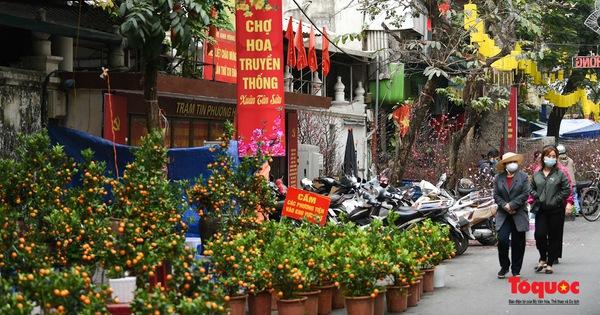Rực rỡ sắc Tết tại phiên chợ Xuân một năm chỉ mở một lần