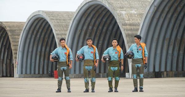 Những người lính không quân lên sóng phim truyền hình Tết