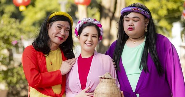 NSND Công Lý hoá cô Cám trong MV của ca sĩ Đinh Hiền Anh