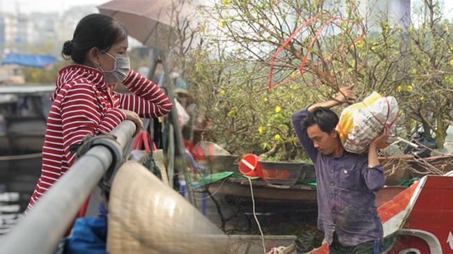 Khách dè chừng dịch bệnh, chợ hoa Tết bến Bình Đông vắng chưa từng thấy