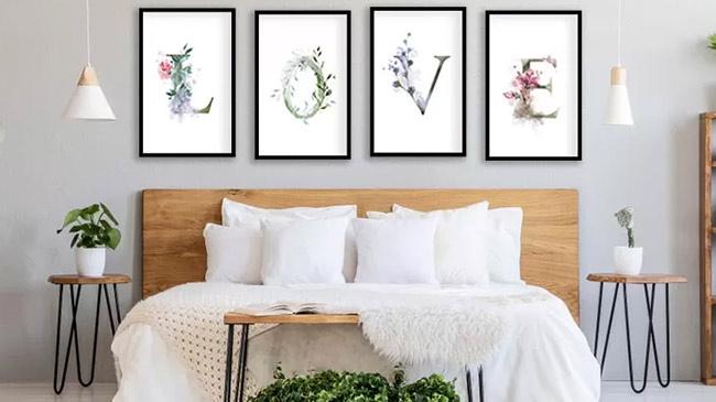 Bài trí phòng ngủ để kích hoạt cung đào hoa, cung tử tức năm Tân Sửu