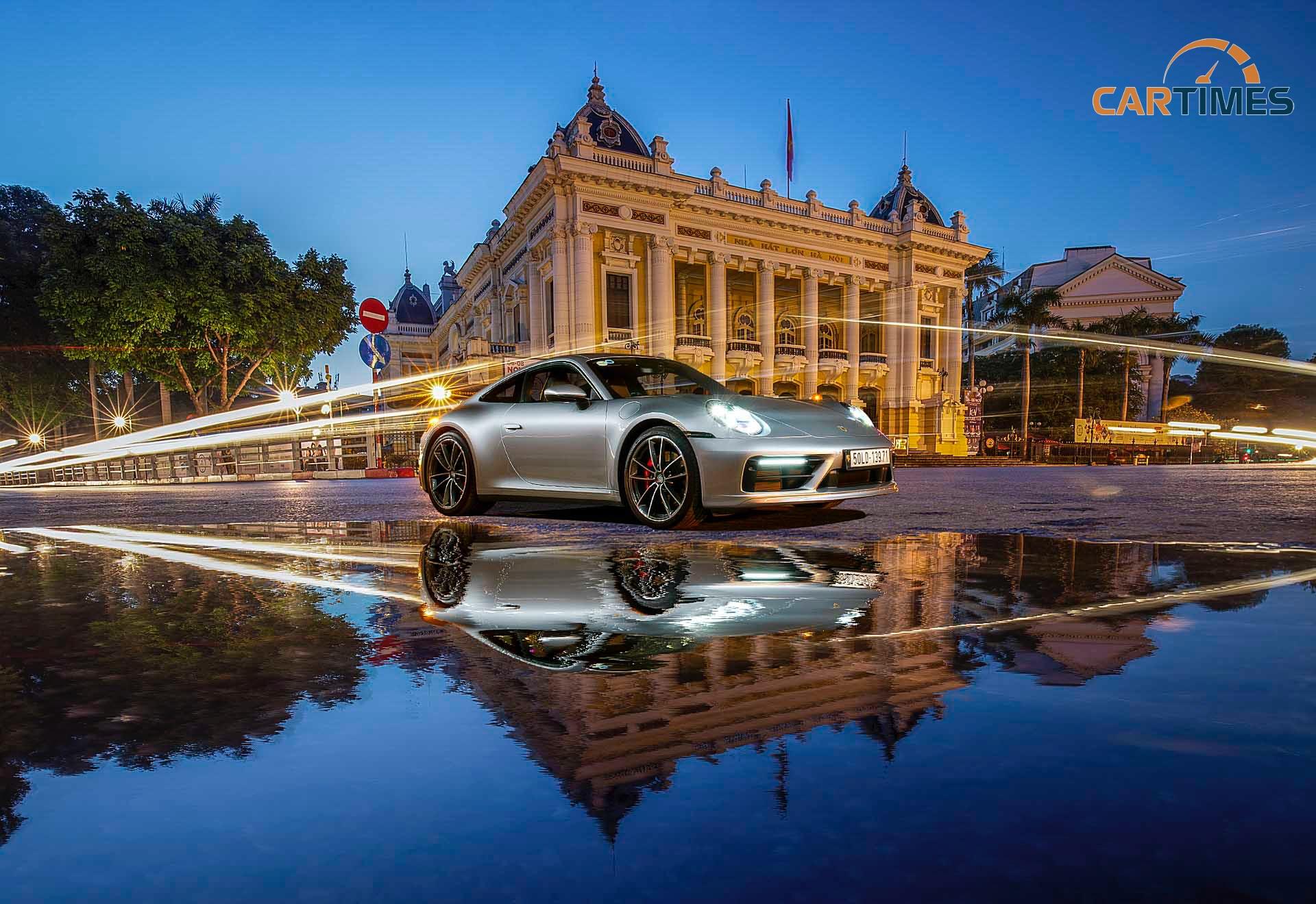 Porsche 911 và Hà Nội phố qua góc nhìn của tôi