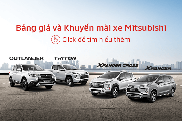 Bảng giá Mitsubishi tháng 2/2021: Vẫn có ưu đãi 50% phí trước bạ