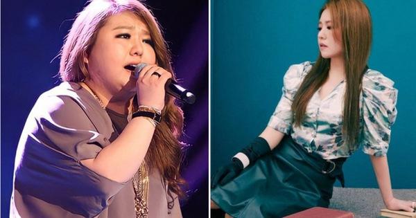 Cô nàng ca sĩ Hàn Quốc