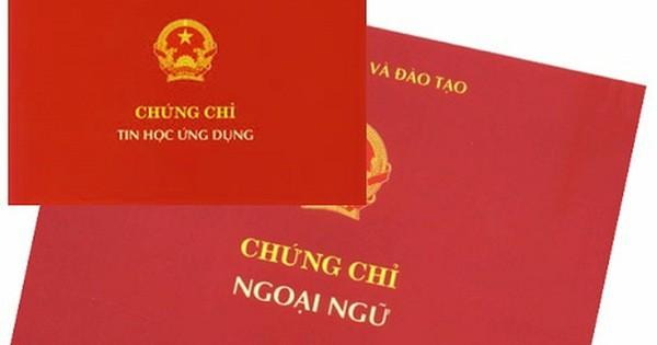 Danh sách các đơn vị được tổ chức thi và cấp chứng chỉ ngoại ngữ 6 bậc, tin học