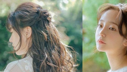 Kiểu tóc giúp che nhược điểm: Mặt vuông, cằm bạnh nên để tóc lửng chạm vai