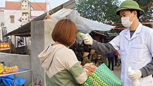 Hải Dương thêm người nghi nhiễm COVID-19 bán hàng ở chợ