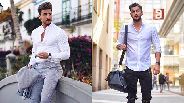 9 cách giúp nam giới mặc áo sơ mi đẹp