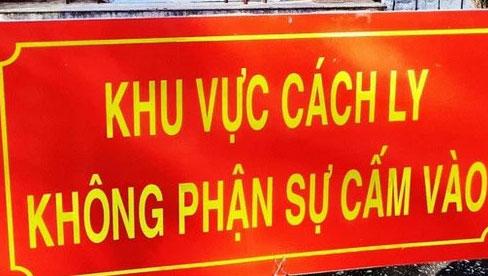 Huyện Tứ Kỳ, Hải Dương có ca COVID-19 mới, liên quan tới ổ dịch Kim Thành