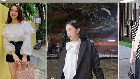 Học sao Việt diện đồ đen trắng vừa đơn giản lại trendy