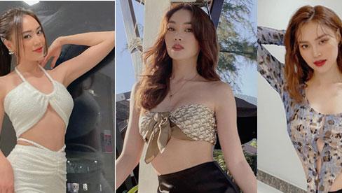 Ninh Dương Lan Ngọc có cả loạt váy áo hở bạo ít ai dám mặc, khoe body sexy bỏng mắt dân tình