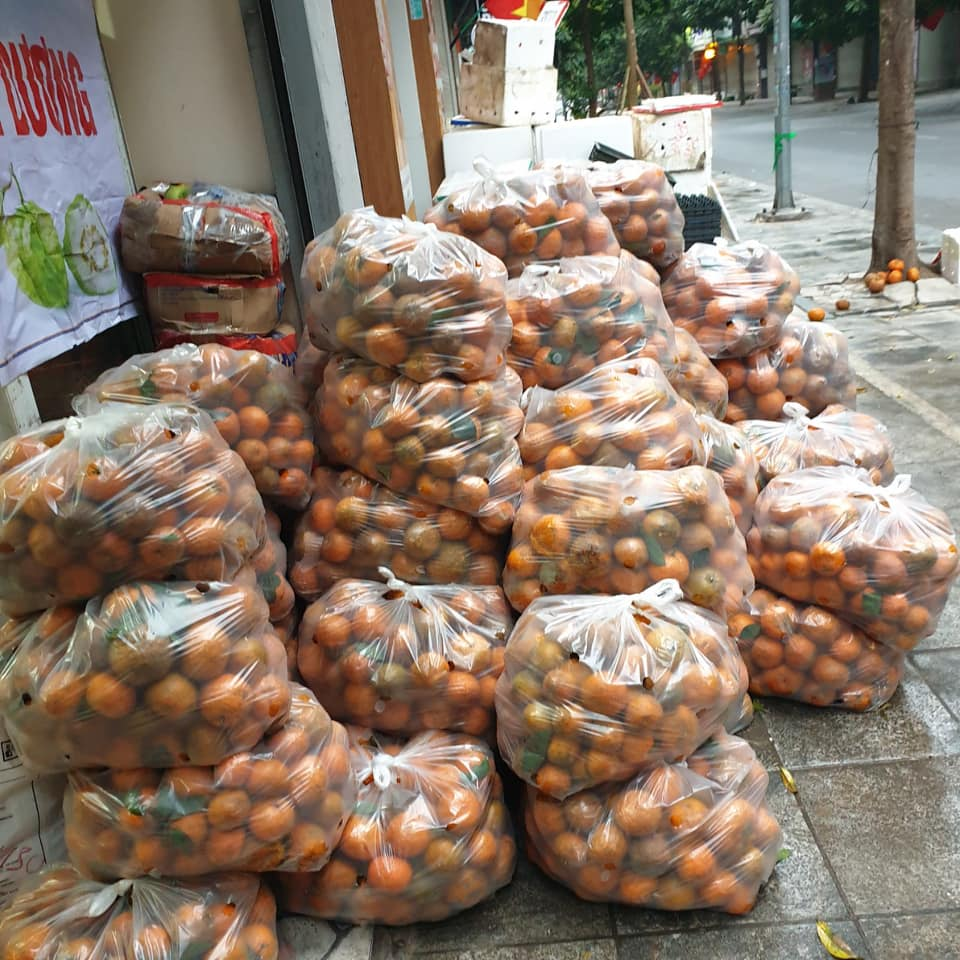 Người dân Hà Nội xếp hàng mua gà giải cứu 60k/kg, thị trường online thêm tấp nập với cam Hà Giang 7k/kg-11