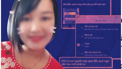 Cô vợ trong vụ bị chồng đòi tiền ăn và tiền khám sản tung bằng chứng giải thích tình tiết đáng nghi ở đoạn tin nhắn mà anh ta ám chỉ cô