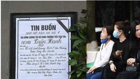 Tang lễ NSND Trần Hạnh: Nhiều nghệ sĩ đã có mặt đợi giờ vào viếng
