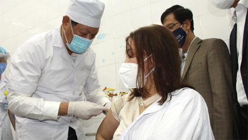 Những người được tiêm vaccine COVID-19 đầu tiên Hải Dương hiện ra sao?
