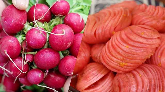 Cách muối củ cải đỏ giòn vị chua ngọt