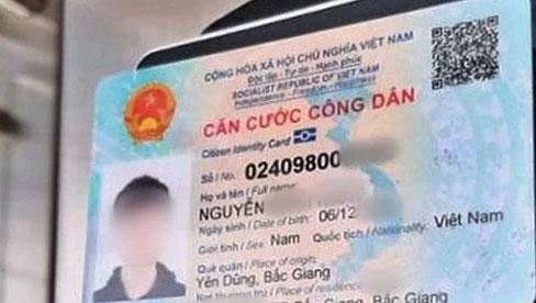 Hồ sơ đăng ký làm căn cước công dân gắn chip gồm những gì?