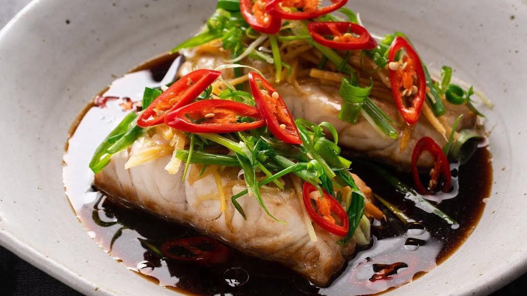 Cách làm cá hấp xì dầu thơm ngon