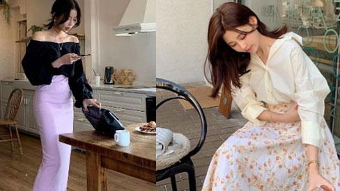 5 kiểu chân váy gái Hàn đang diện nhiều nhất, chị em sắm hết thì không bao giờ có chuyện mặc xấu