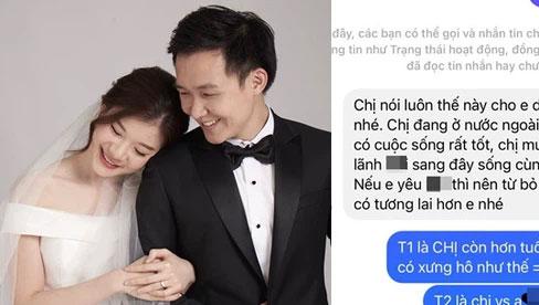 Trước ngày kết hôn, cô dâu nhận được tin nhắn từ người cũ của chồng, màn 'dằn mặt' sau đó khiến dân mạng phấn khích rần rần