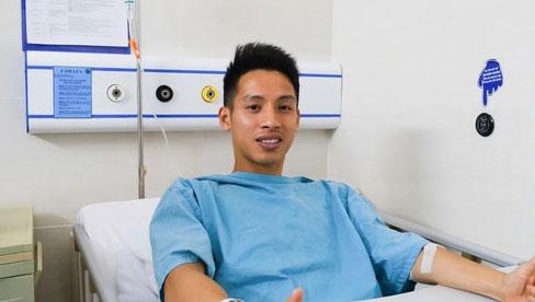 Ca phẫu thuật của Hùng Dũng thành công