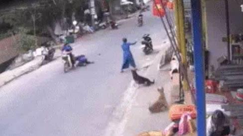 Clip: Cô gái ngồi sau xe máy bất ngờ ngã vật xuống đường đau điếng, nguyên nhân đến từ món đồ chị em nào cũng có