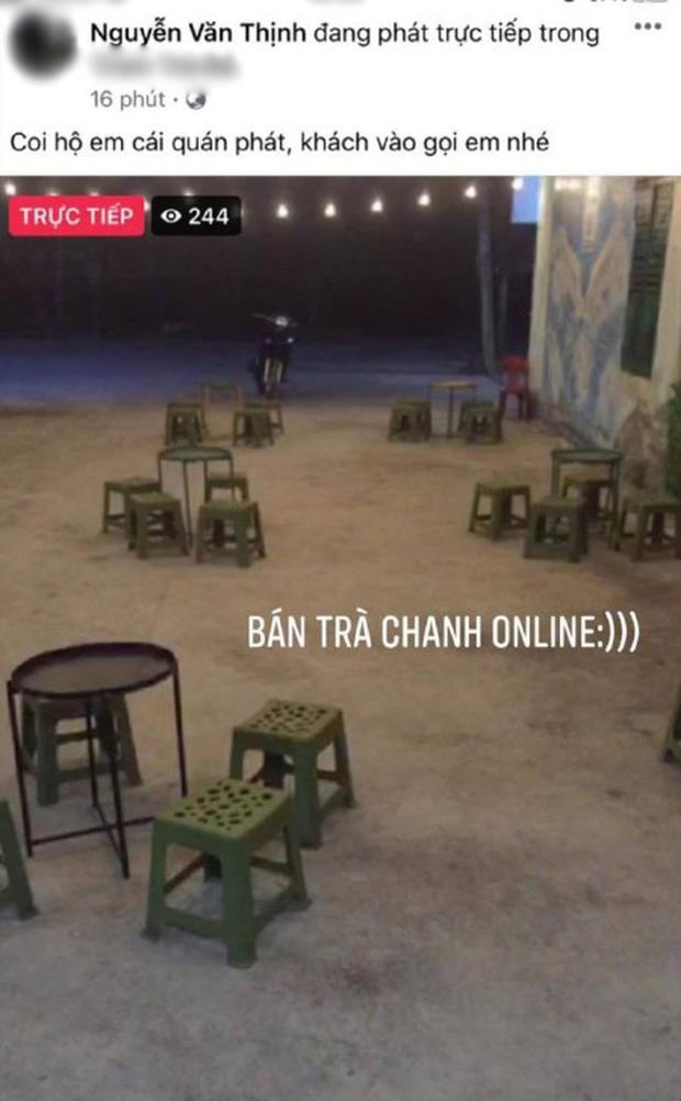Thanh niên livestream nhờ dân mạng… trông hộ quán trà chanh: Khách chẳng thấy đâu chỉ thấy cười xỉu-1