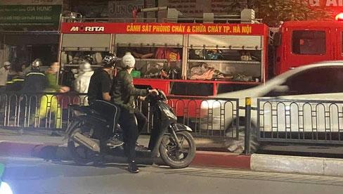 Hà Nội: Cháy nhà trên phố Tôn Đức Thắng trong đêm, 4 người tử vong