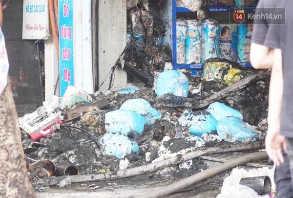 Xác định nguyên nhân vụ cháy cửa hàng bán bỉm khiến 4 người tử vong trên đường Tôn Đức Thắng-1