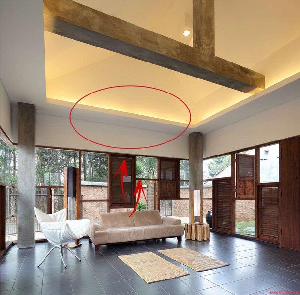 5 cấm kỵ về phong thủy trong thiết kế nhà: Không cần nhờ đến thầy, bạn có thể tự mình khắc phục-3