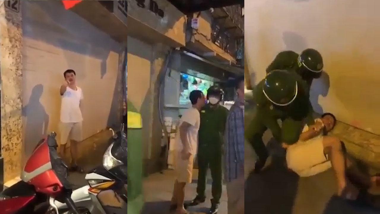 Thanh niên say rượu quỵt tiền taxi, 'cà khịa' cả cảnh sát 113 và cái kết